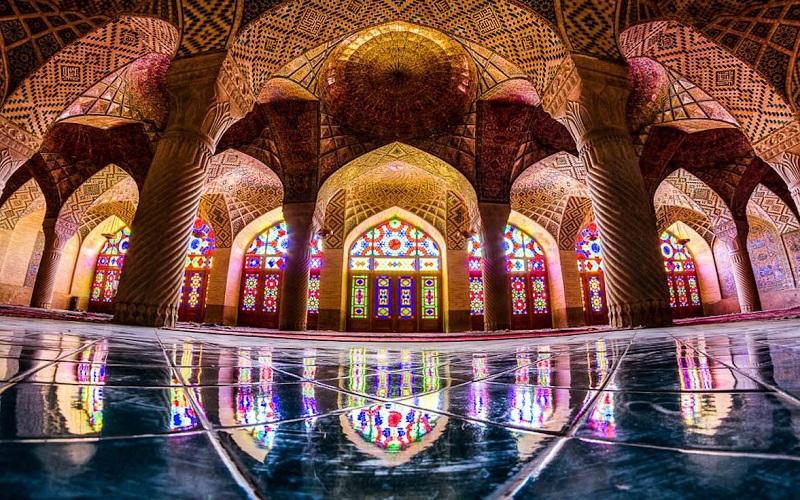 rosa Moschee im Shiraz Iran