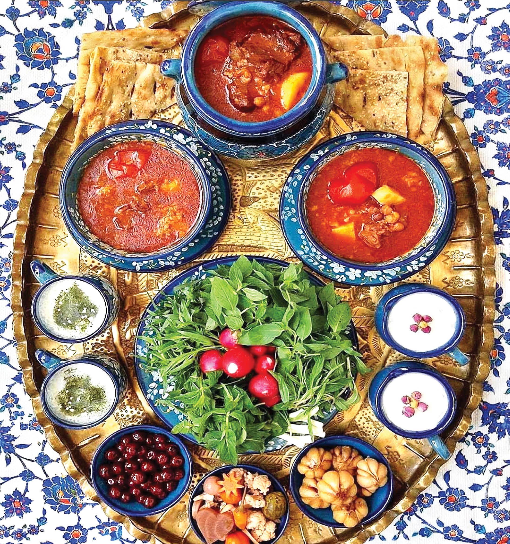 Abguscht ist eines der traditionellen iranischen Gerichte