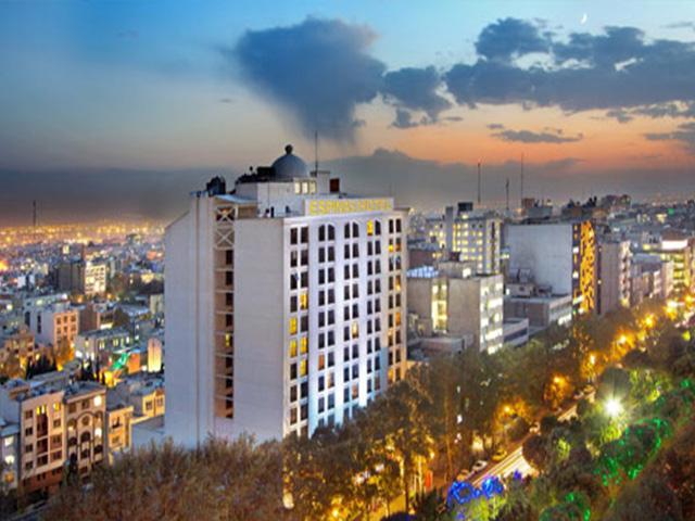 l'hotel espinas Tehran