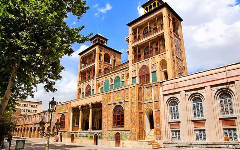 iranische historische stätten