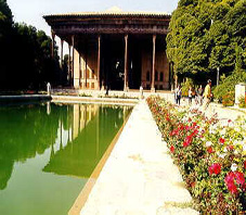 Iran, Isfahan, chehel seton
