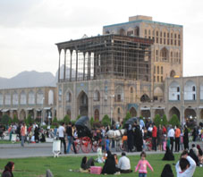 iran, isfahan, ali ghapo