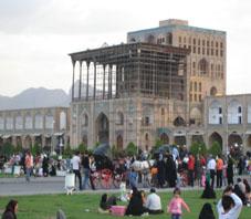 Иран,Исфахан, Дворец_Алий-Гапу