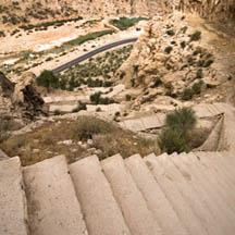 Iran, Firoozabad, ghale dokhtar