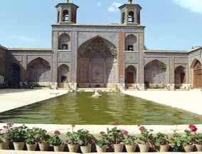 Iran,Shiraz, Nasir ol molk mosque