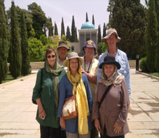 Iran, Shiraz, Mausolée de Sa'adi