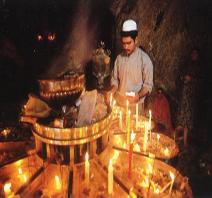Iran, Yazd, shrine