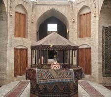 Iran, Zeinoddin caravanserai