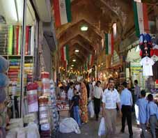 Iran, bazar