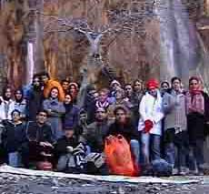 iran,fars,margoon waterfall