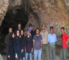 iran,fars,tadvan cave