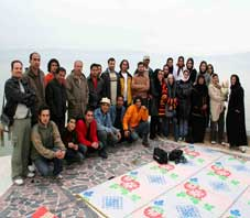 iran,fars,salt lake