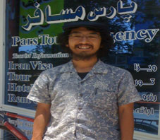 Iran hospitality, Suzuki