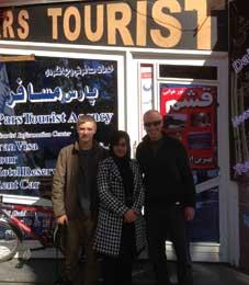 Iranian Hospitality, Felix and Stephan