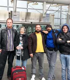 Iran, Chris, Shireen, Rupit, Michele