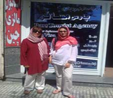 Iran hospitality, Dragana Asanovic