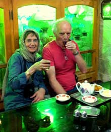 Iran, Genevieve and Mike