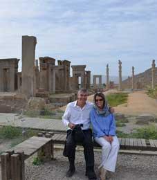 Iranian Hospitality, Pauline, Shiraz, Persepolis
