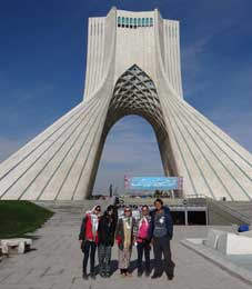 Iran, Tehran, Azadi Square, Choong Lyol Lee