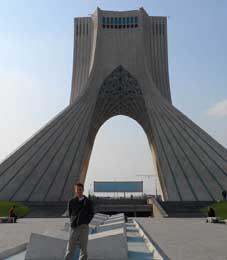 Iran, Tehran, Azadi Square, James Merriman