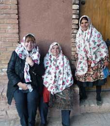 Iranian Hospitality, Belinda Patey