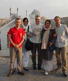 Iran, Isfahan, Jose Manuel