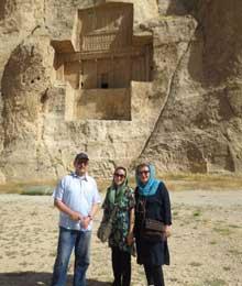 Iran, Shiraz, Miljia
