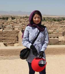 Iranian Hospitality, Miyoko Ishigami