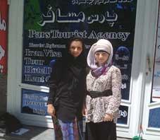 Iran hospitality, Marina Khadidzsa Fawn