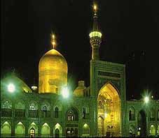 Iran, Mashhad, Imam reza shrine