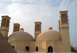Iran, Kish, Ancient water cellars