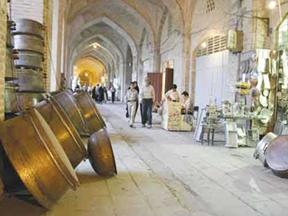 iran, kerman, vakil bazar