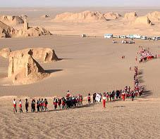 Iran, Shahdad desert