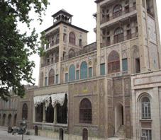 Iran, Tehran, Shams-ol Emareh Palace