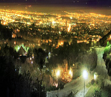 iran,tehran,city at night