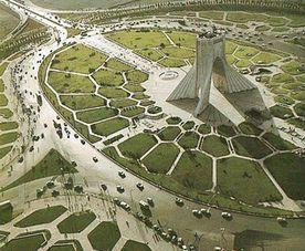 Iran, Tehran, Azadi squre
