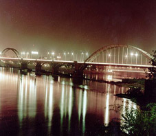 iran,ahvaz,karoun river,bridge