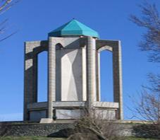 Iran, Hamedan, khayyam tomb