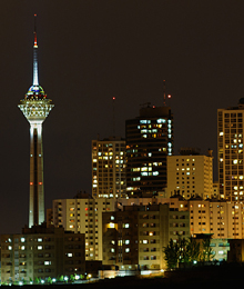 Iran,Tehran, Milad tower