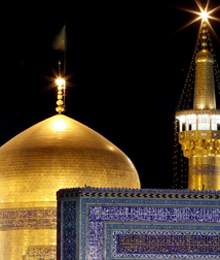 Iran, Mashhad, Imam Reza holy shrine