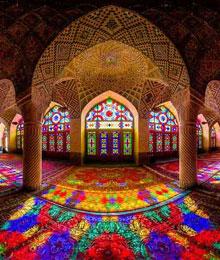 Iran, Shiraz, Nasir-ol-,olk