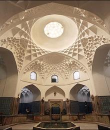 Iran, Kerman, Ganjalikhan bath