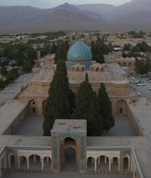 Iran, Mahan, Shah Nematollah mausoleum