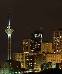 Iran, Tehran, Milad tower