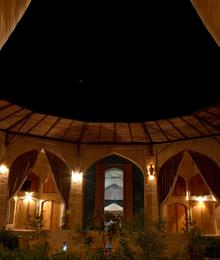 Iran, Yazd, Zeinodin Caravansaray
