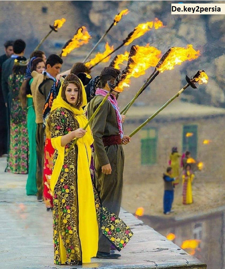Nowruz, iranisches Symbol