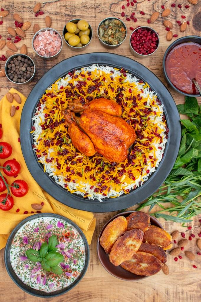 Seresck Polo ist eines der schönsten iranischen Gerichte